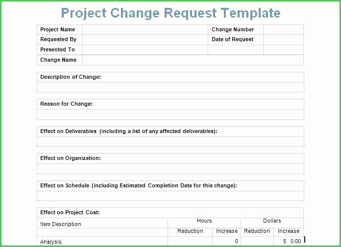 Management Of Change Procedure Template Best Of Project Management Change Control Process Template