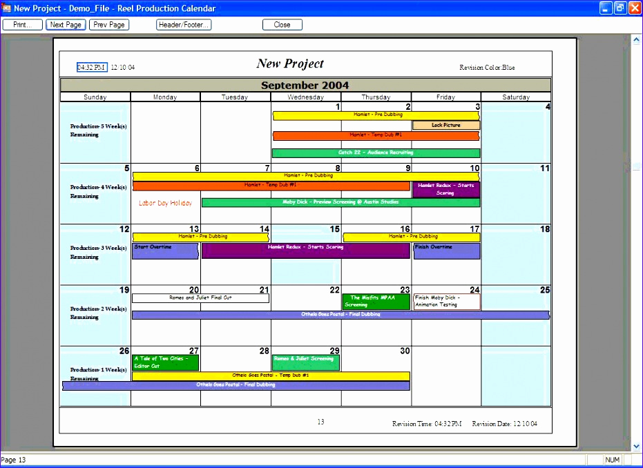 Manufacturing Production Schedule Template Best Of Printable Manufacturing Production Schedule Template