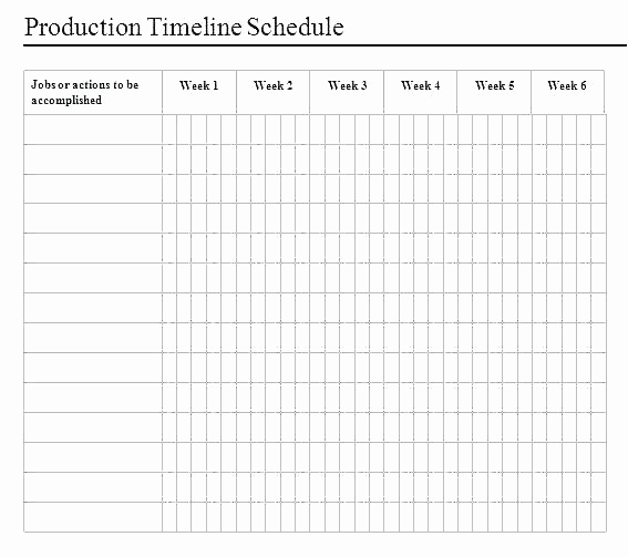 Manufacturing Production Schedule Template Lovely Manufacturing Schedule Template event Production Free