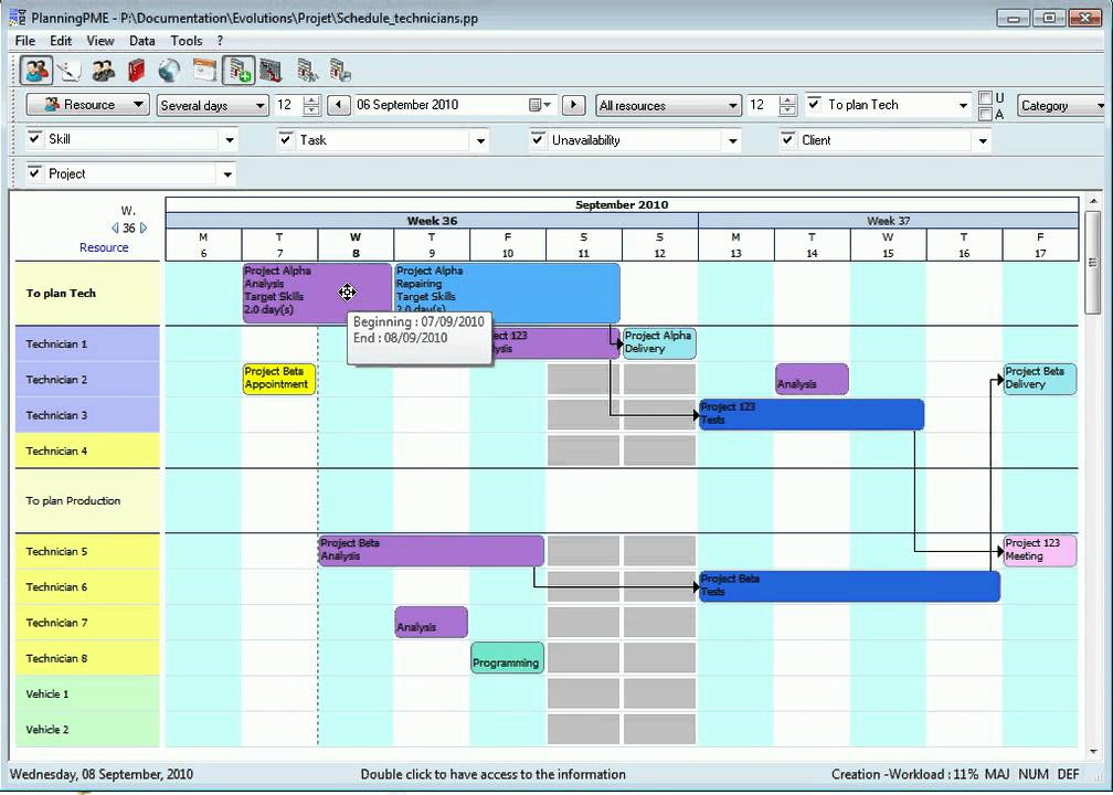 Manufacturing Production Schedule Template Lovely Production Planning Gantt Chart English