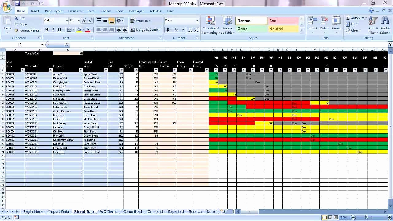Manufacturing Production Schedule Template New Excel Graphical Production Planning and Control Planner