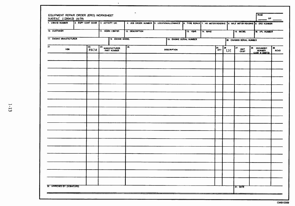Mechanic Work order Template Lovely Best S Of Machine Maintenance Log Sheet Template