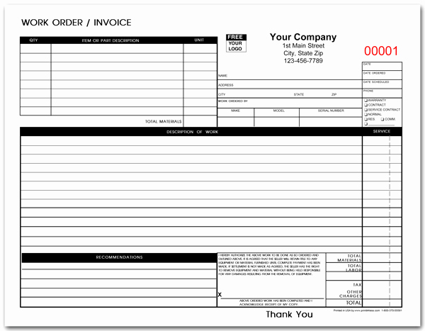 Mechanic Work order Template New Auto Repair Estimate Template