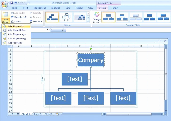 Ms Word org Chart Templates Elegant Ms Fice organization Chart Template 24 org Chart