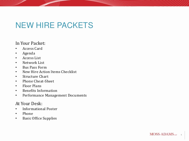 New Hire Packet Template Elegant Ujh90o9i2015 New Hire Training Plete Version B