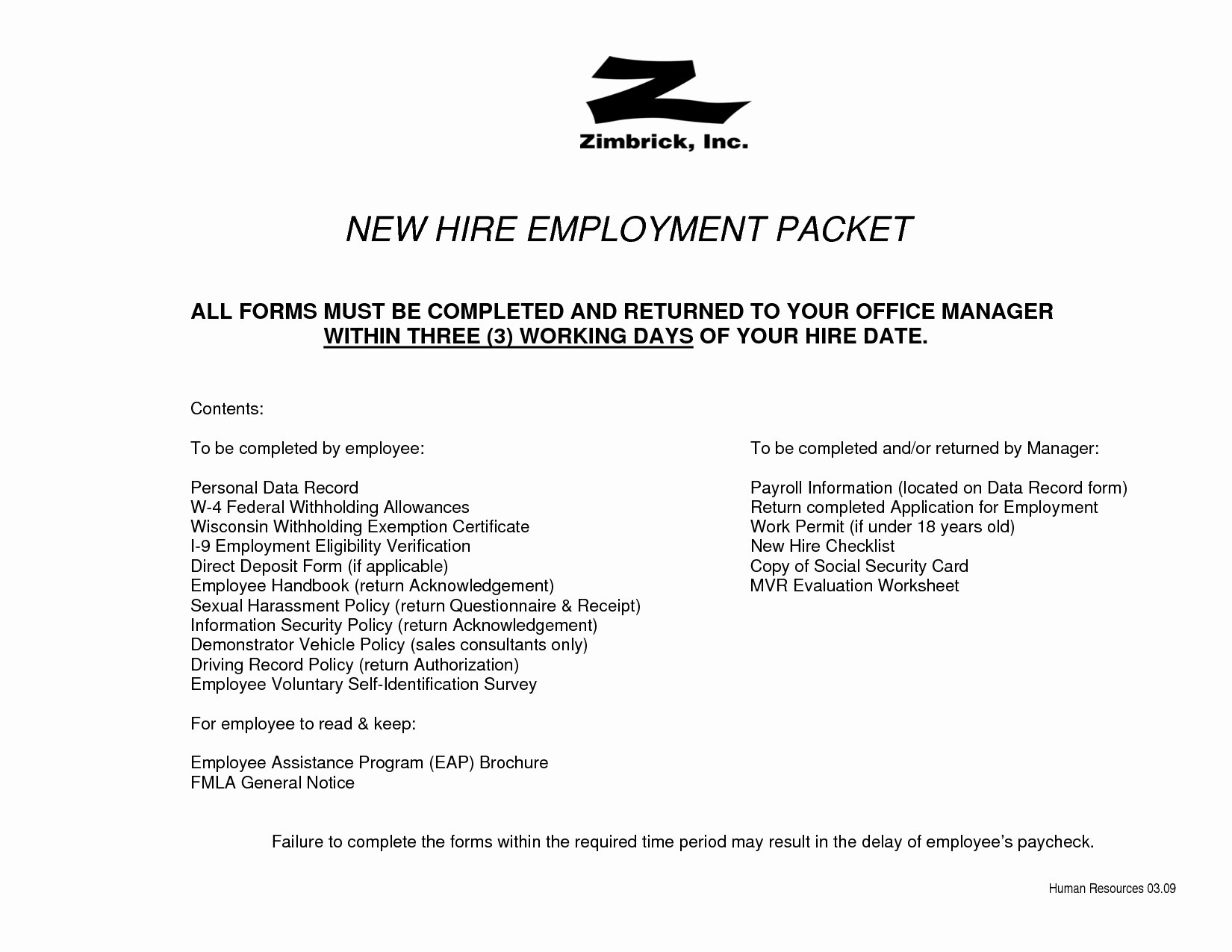 New Hire Packet Template Luxury 15 Best Of Employee Development Worksheet