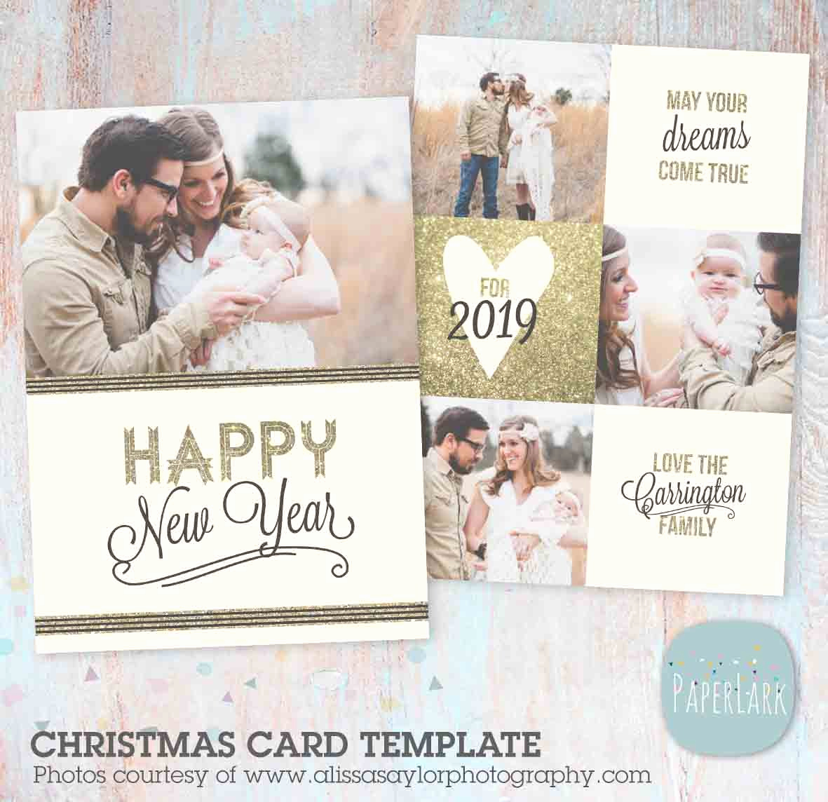 New Year Card Template Best Of New Year Card Template Al002
