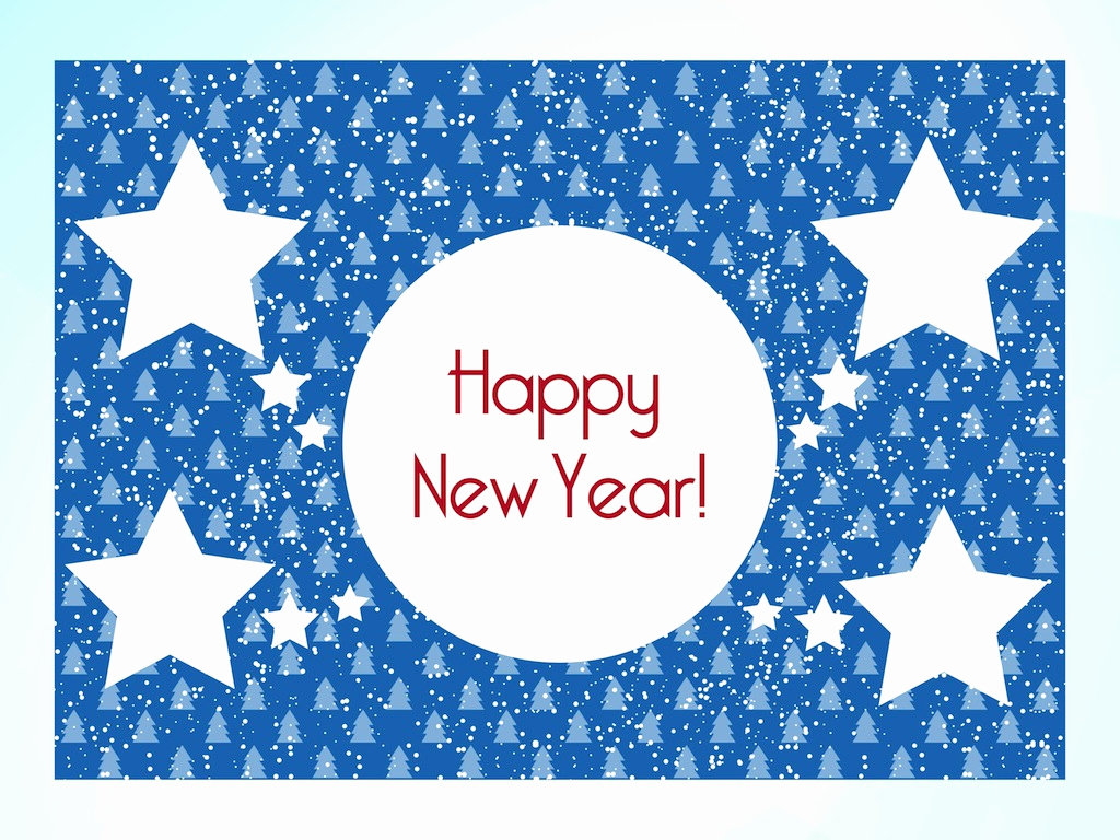 New Year Card Template Best Of New Year Card Template Vector Art & Graphics