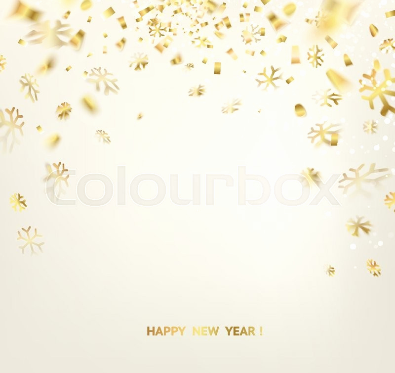 New Year Card Template Fresh Happy New Year Card Template Over Gray Background with