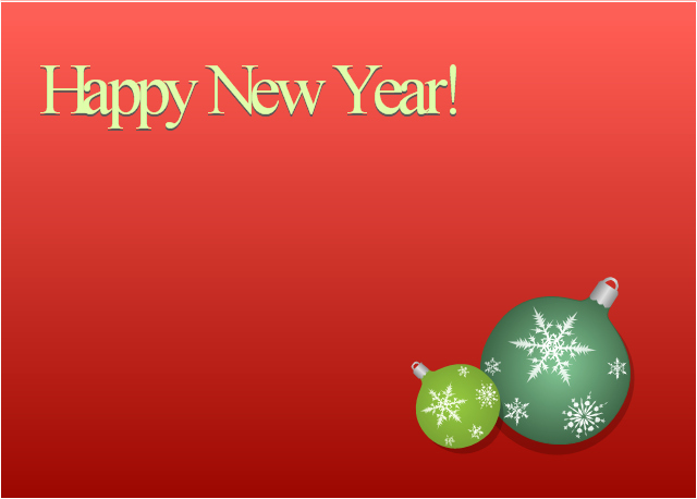 New Year Card Template Fresh New Year Card House Covered with Snow Template