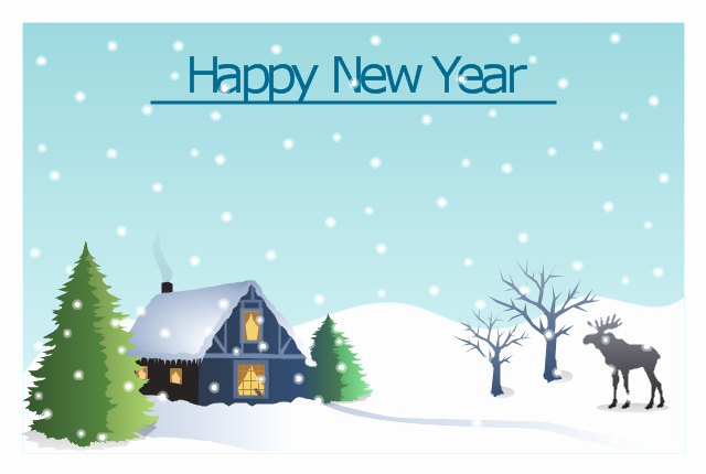 New Year Card Template Fresh top 10 New Year Resolutions for Your Home Silicon Valley