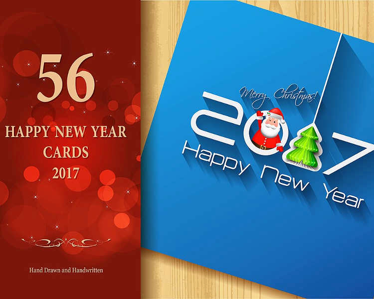 New Year Card Template Lovely 12 New Year Greeting Card Templates Free Psd Designs