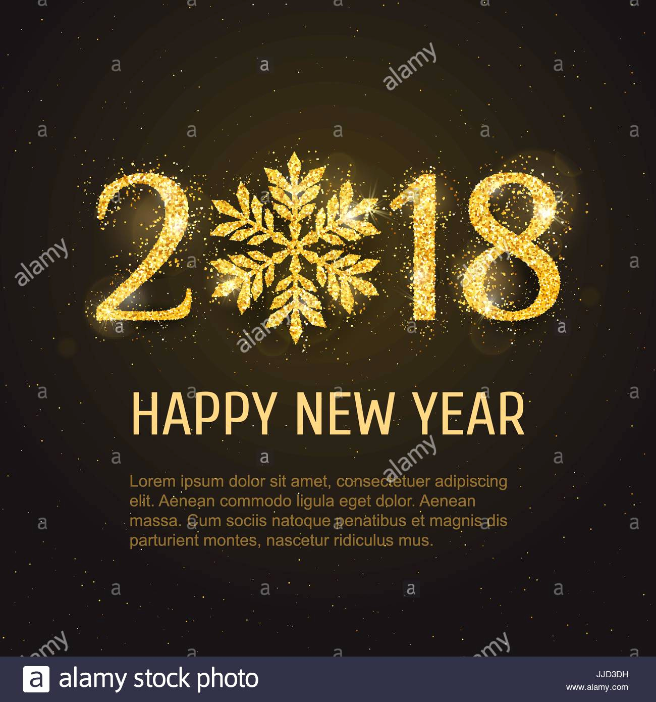 New Year Card Template New Vector 2018 Happy New Year and Merry Christmas Greeting