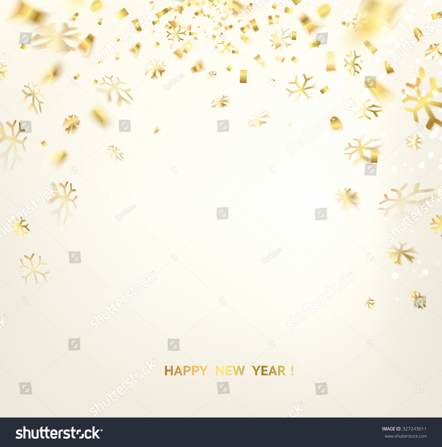 New Year Card Template Unique Happy New Year Card Template Over Stock Vector