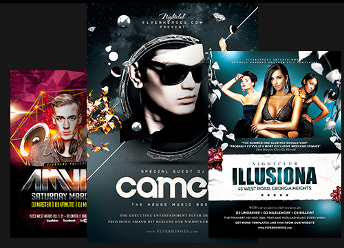 Night Club Flyer Templates Awesome Premium Psd Flyer Templates for Shop