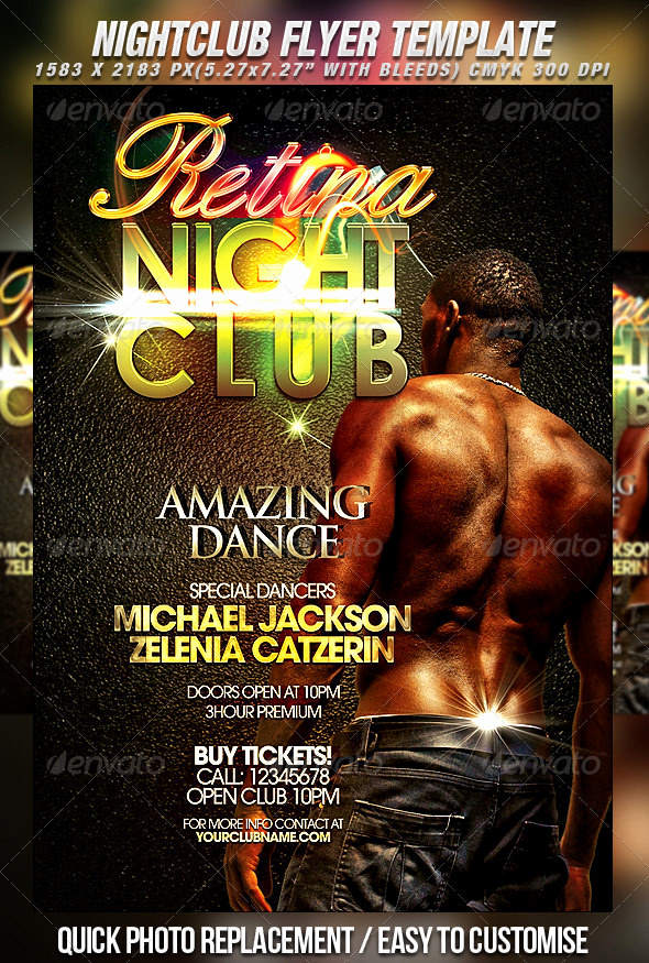 Night Club Flyer Templates Beautiful 31 Fabulous Night Club Flyer Templates & Psd Designs