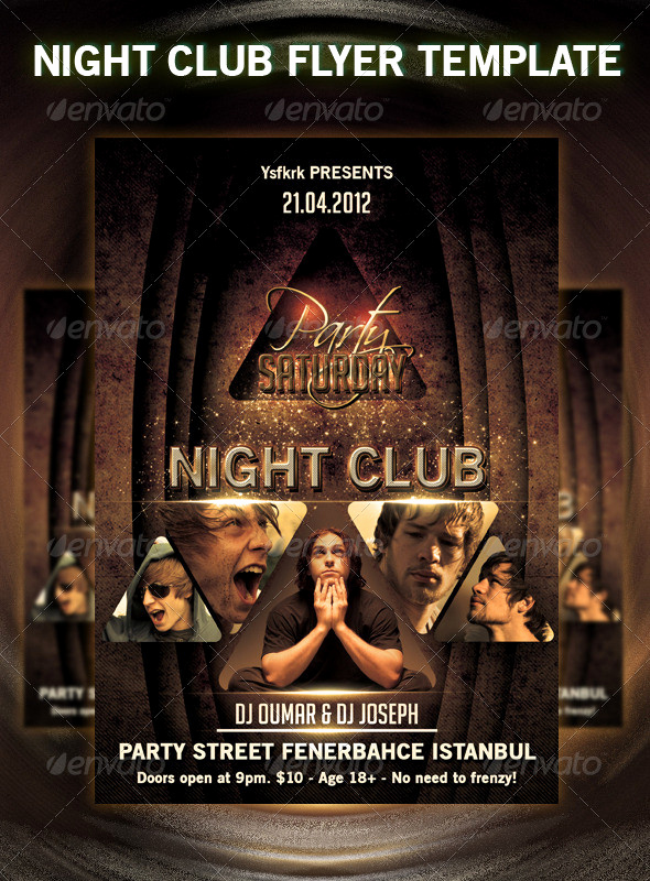Night Club Flyer Templates Best Of 31 Fabulous Night Club Flyer Templates & Psd Designs