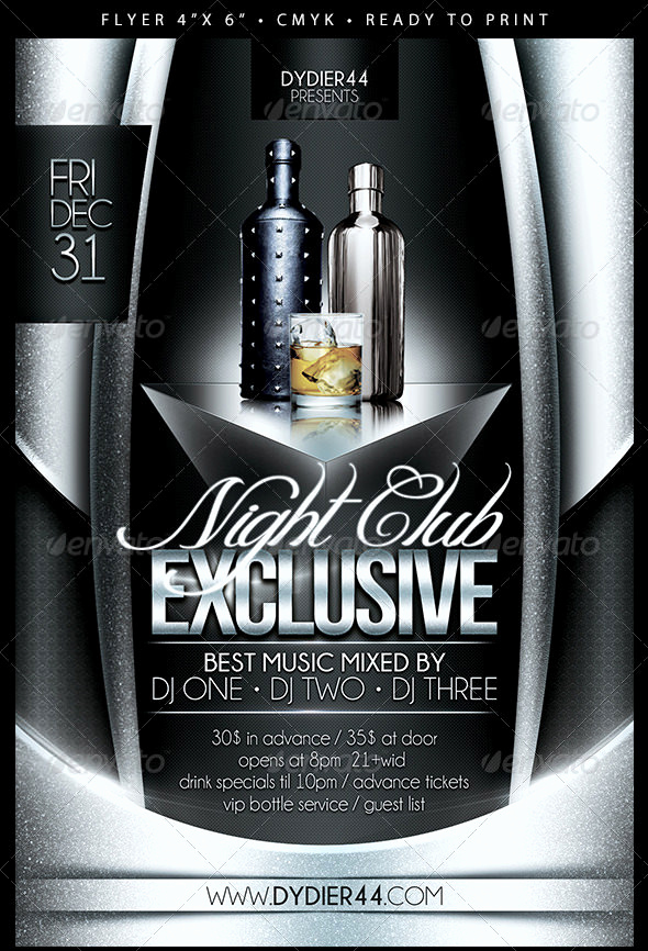 Night Club Flyer Templates Elegant 31 Fabulous Night Club Flyer Templates & Psd Designs