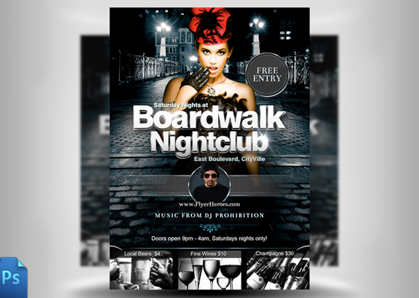 Night Club Flyer Templates Fresh 31 Fabulous Night Club Flyer Templates & Psd Designs
