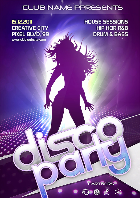 Night Club Flyer Templates Fresh Night Club Flyer Psd Template Free Psd Files