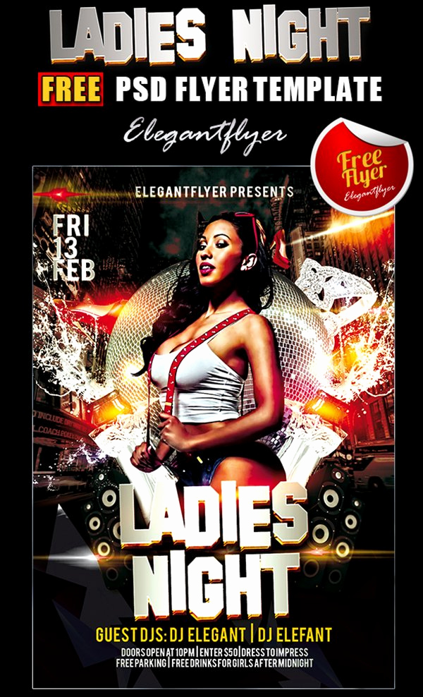 Night Club Flyer Templates Lovely 31 Free Party & Club Flyer Templates