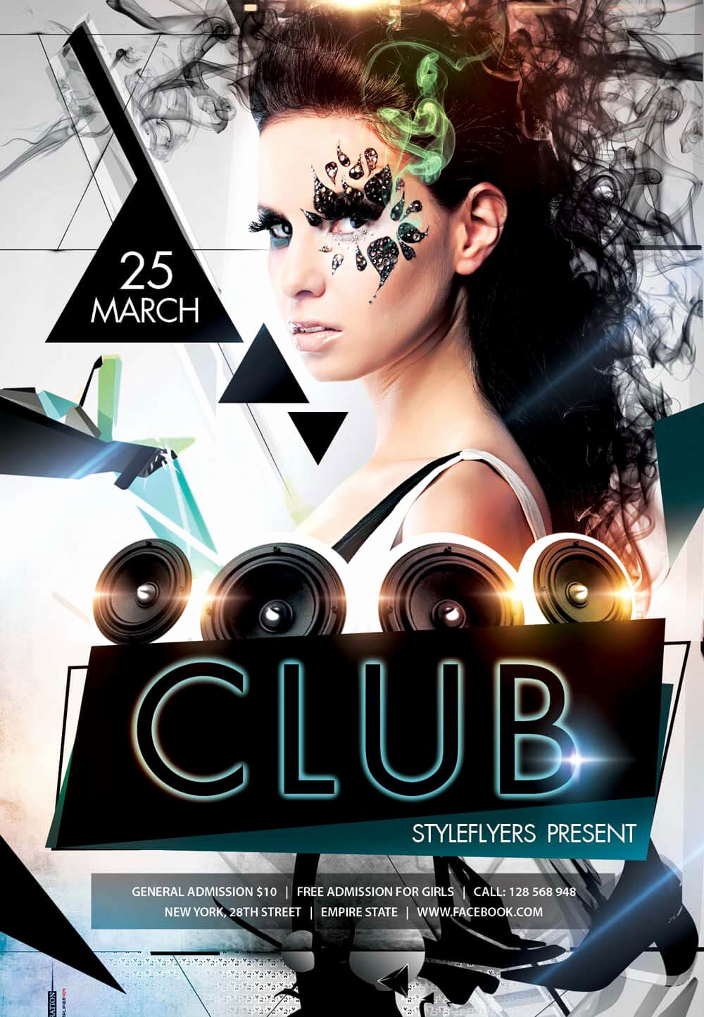 Night Club Flyer Templates Luxury New Party Season Free Psd Flyer Templates Graphicsfuel