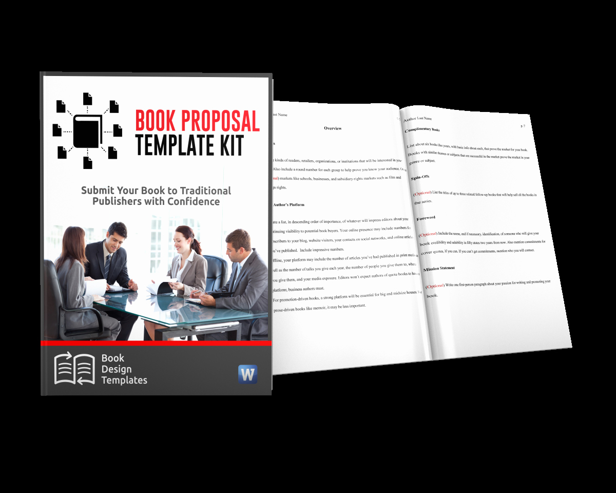 Nonfiction Book Proposal Template Awesome Book Proposal and Manuscript Template — Author toolkits