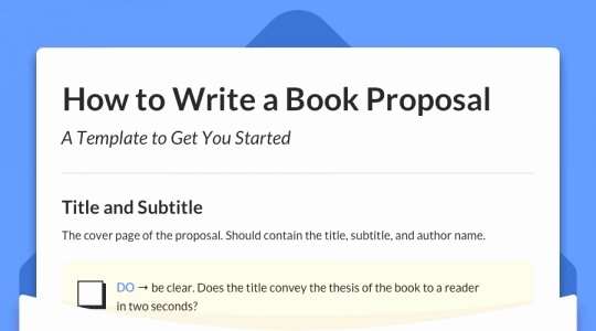 Nonfiction Book Proposal Template Inspirational the Reedsy Blog • Your Daily Dose Of Writing Publishing
