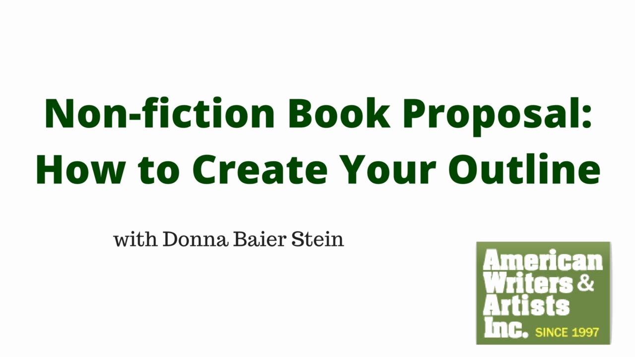 Nonfiction Book Proposal Template Luxury How to Create An Outline for Your Non Fiction Book