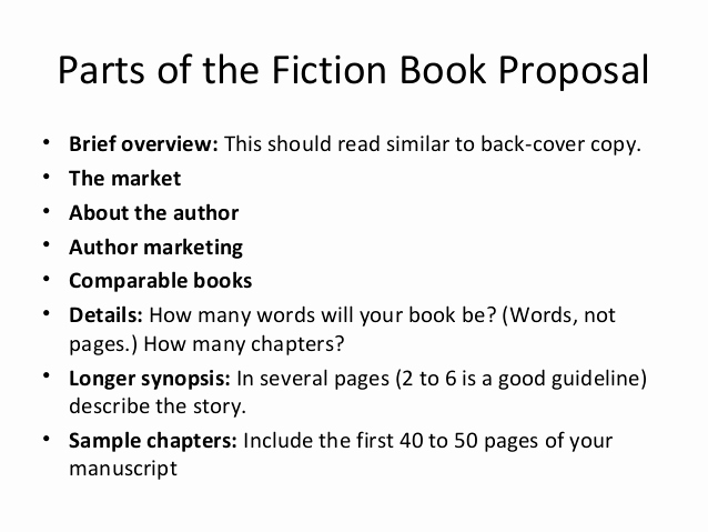 Nonfiction Book Proposal Template Unique Writing the Book Proposal