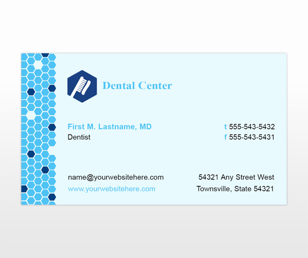 Office Business Card Template Elegant Family Dentistry & Dental Fice Business Card Templates