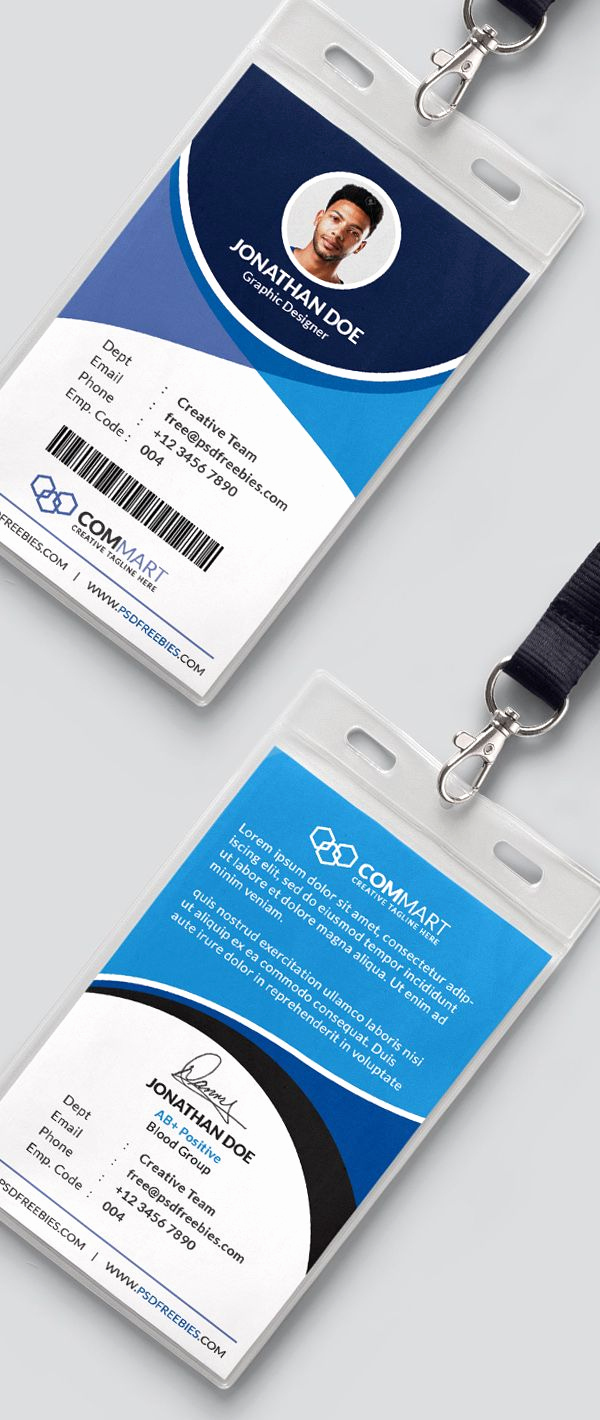 Office Business Card Template Elegant Free Corporate Fice Identity Card Template Psd