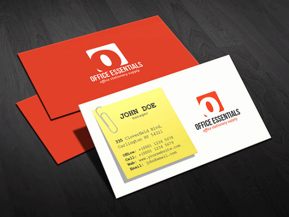 Office Business Card Template New Creative Fice Supplies Business Card Template Free