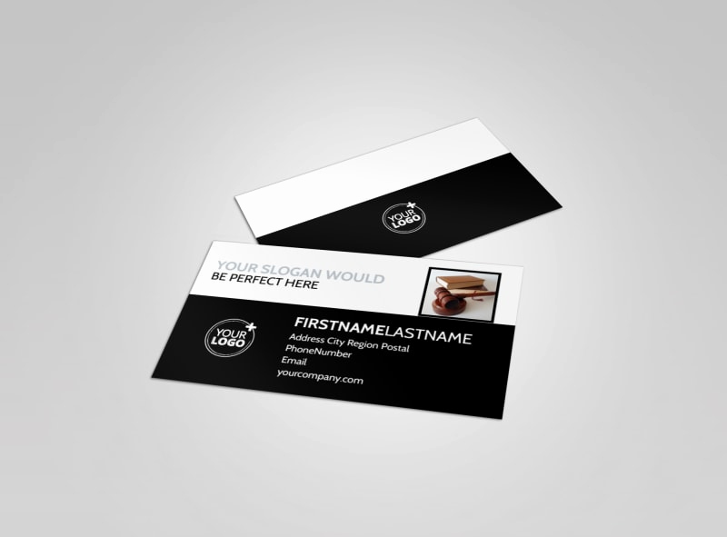 Office Business Card Template New Law Fice Business Card Template