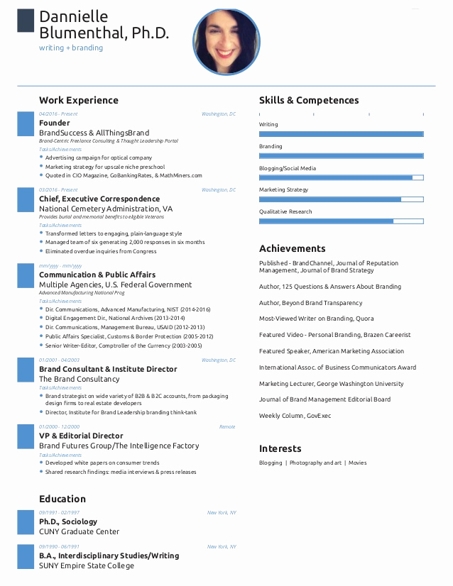 One Page Resume Template Free Best Of E Page Resume Created with Free Novoresume Template