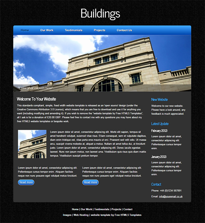 Open source Websites Templates Awesome Best Open source Website Template 11 Free Word Pdf