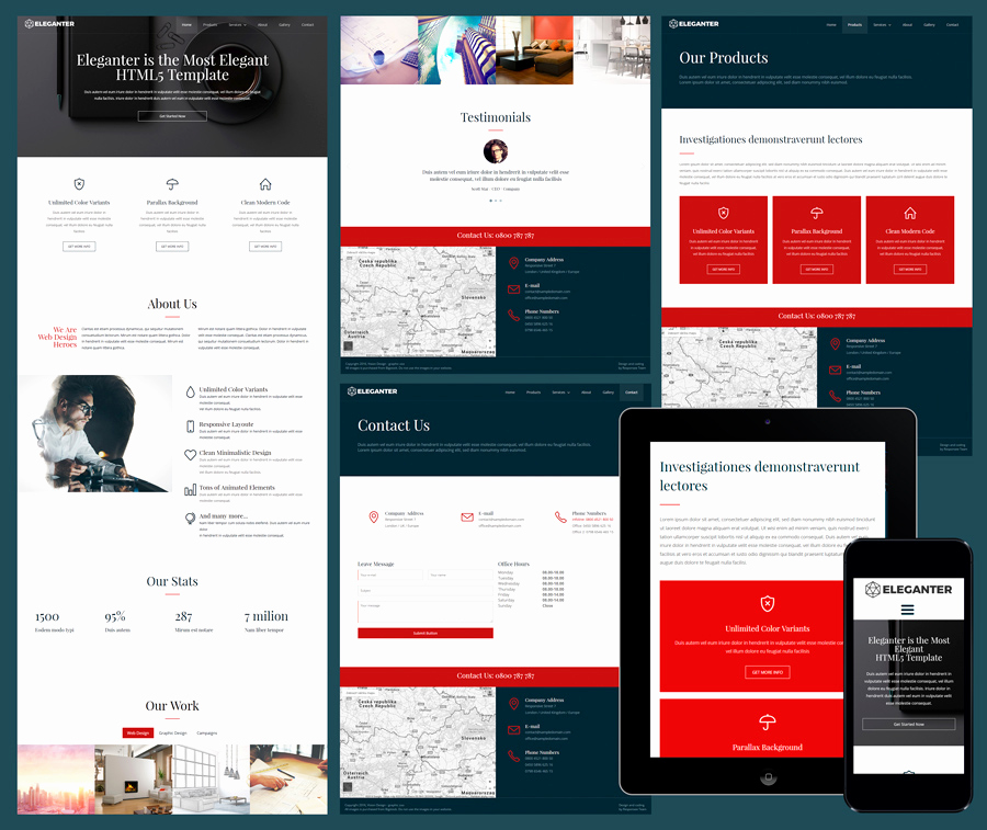 Open source Websites Templates Awesome Open source Responsive Web Templates 15 Free Amazing