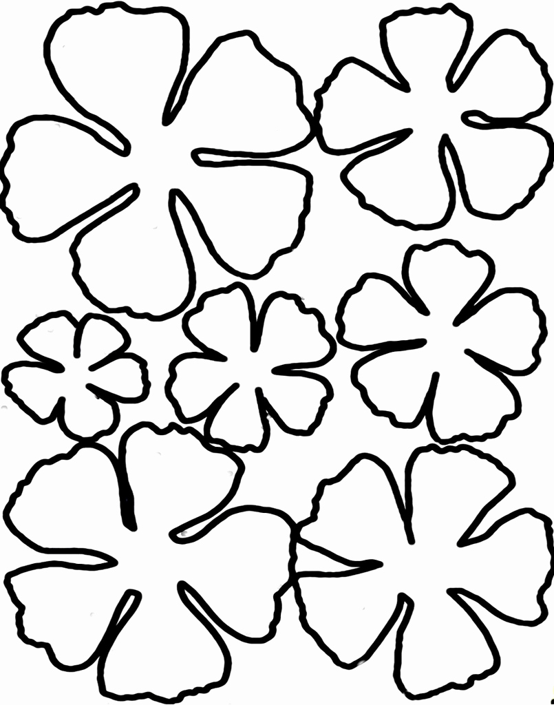 Paper Cut Outs Templates Best Of 8 Best Of 3d Flower Cut Outs Printable Printable