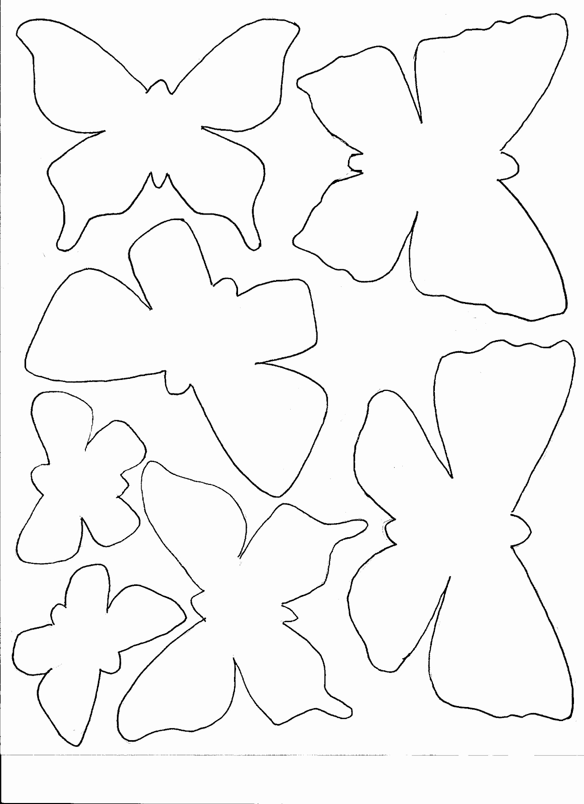 Paper Cut Outs Templates Elegant Amy S Etcetera Masks for Gelli Printing