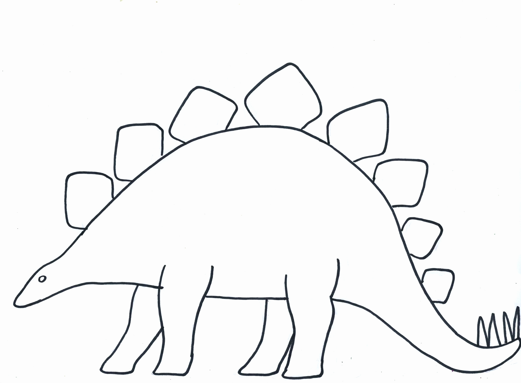 Paper Cut Outs Templates Elegant Blank Dinosaur Template