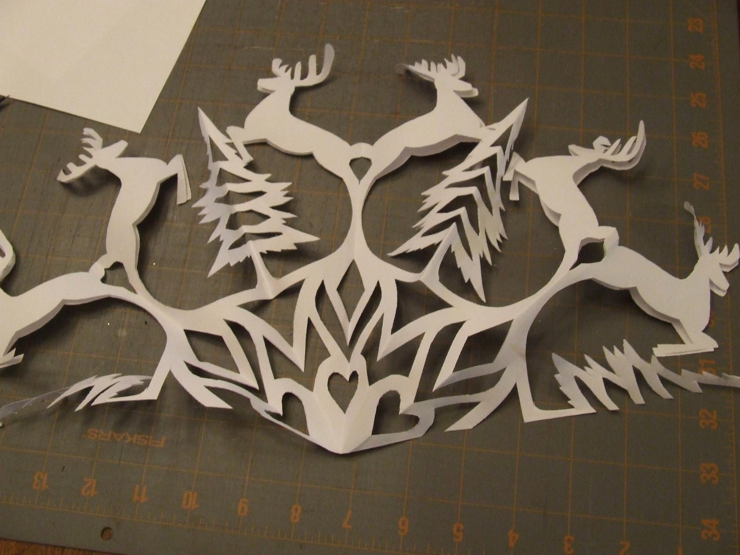 Paper Cut Outs Templates Fresh Snowflake Pattern