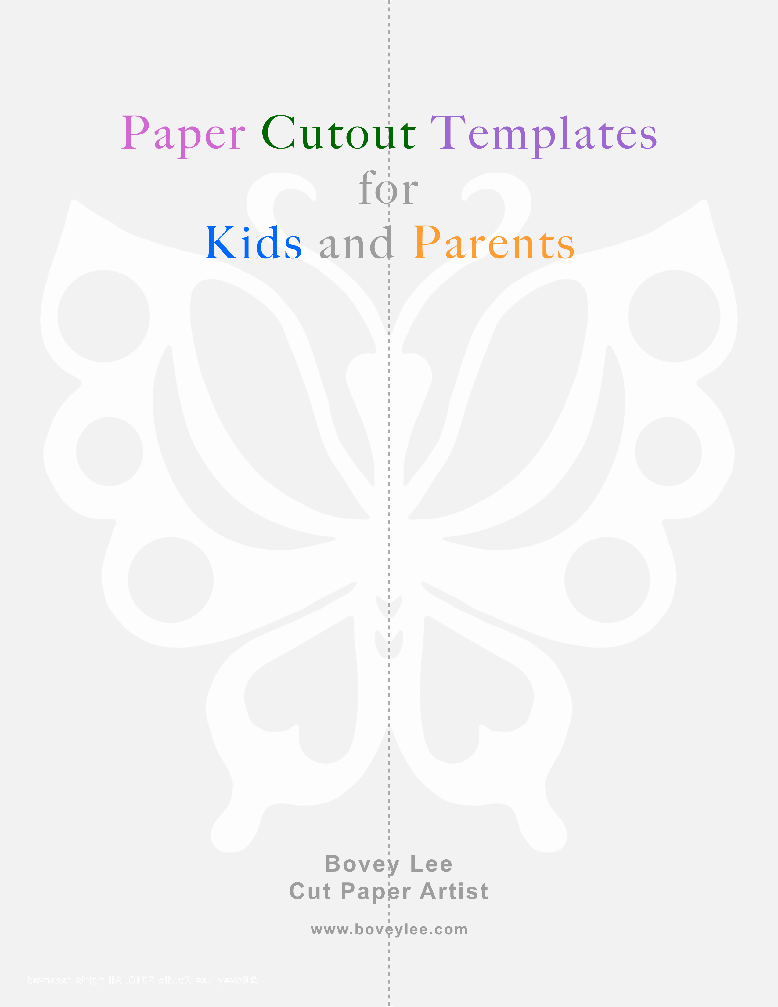 Paper Cut Outs Templates Lovely Free Paper Cutout Templates for Kids and Parents