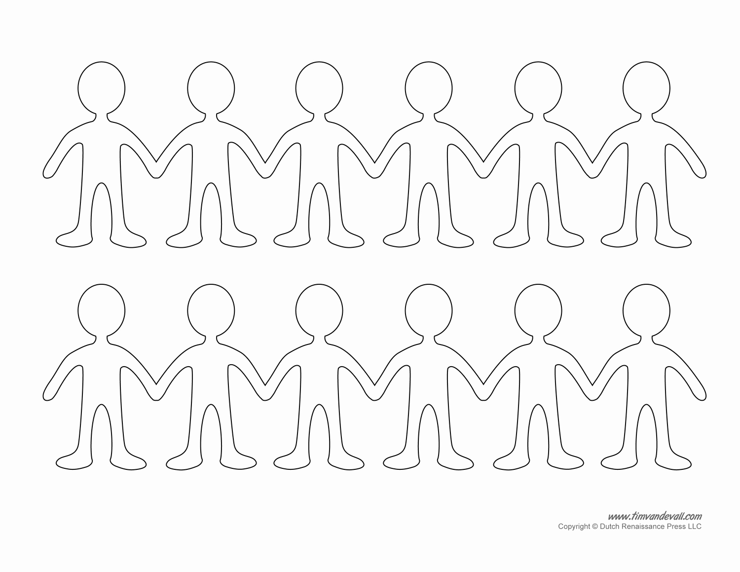 Paper Cut Outs Templates Luxury Printable Paper Doll Templates