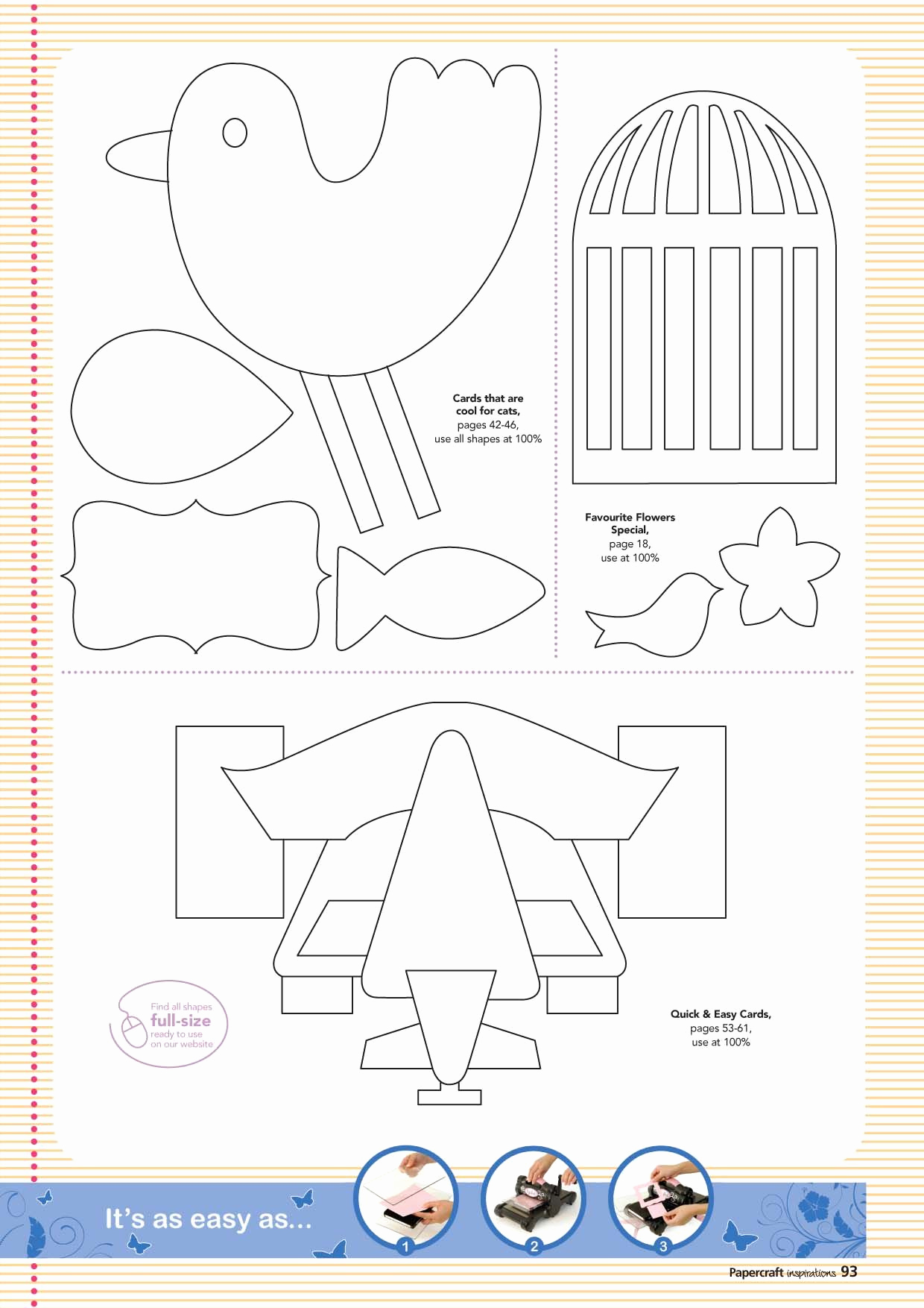 Paper Cut Outs Templates Unique Paper Crafts Templates