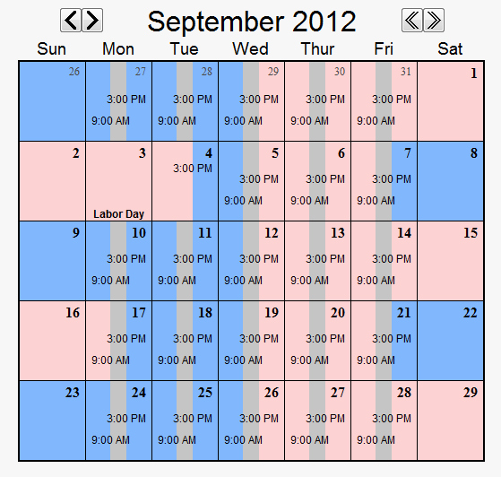 Parenting Time Calendar Template Fresh Child Custody Calendar Easily Create Custody