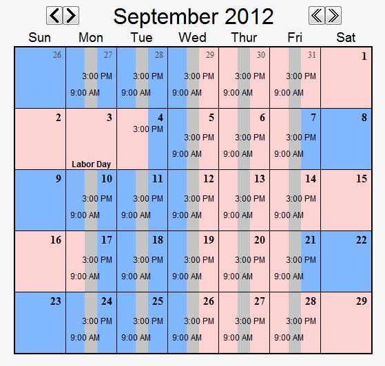 Parenting Time Calendar Template Fresh Child Custody Calendar Easily Create Custody