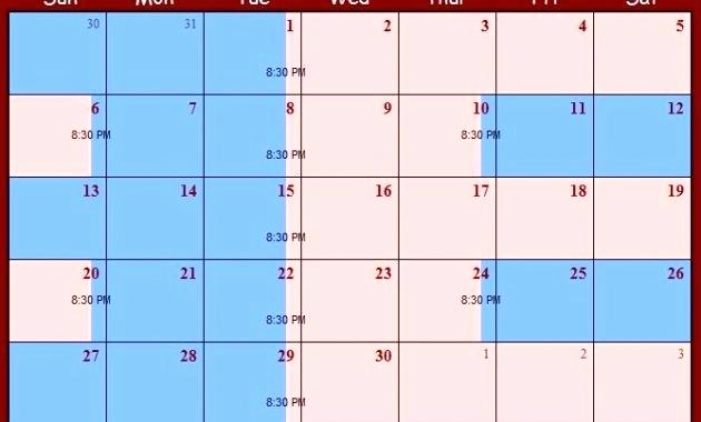 Parenting Time Calendar Template New 2018 Custody Calendar Template Child Visitation Schedule