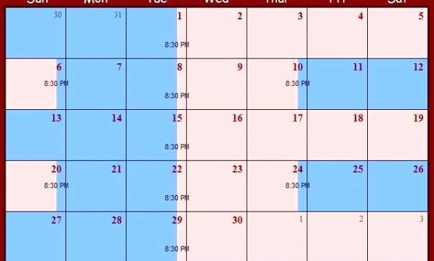Parenting Time Calendar Template New 2018 Custody Calendar Template Child Visitation Schedule