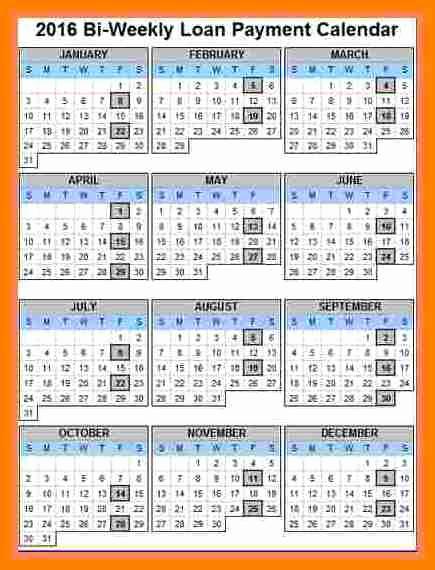 Payroll Calendar Template 2017 Elegant 7 Payroll Calendar 2018 Template