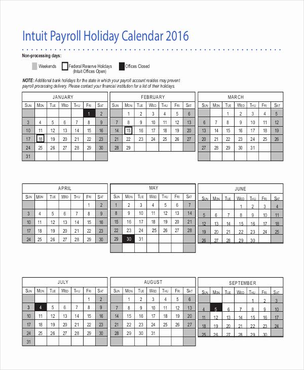 Payroll Calendar Template 2017 Lovely 2017 Payroll Calendar Template